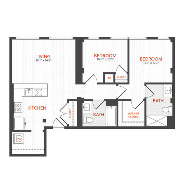 LOFTS 2 Bed M