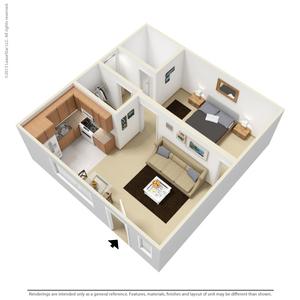 Floor Plan Details. 1 Bedroom ...