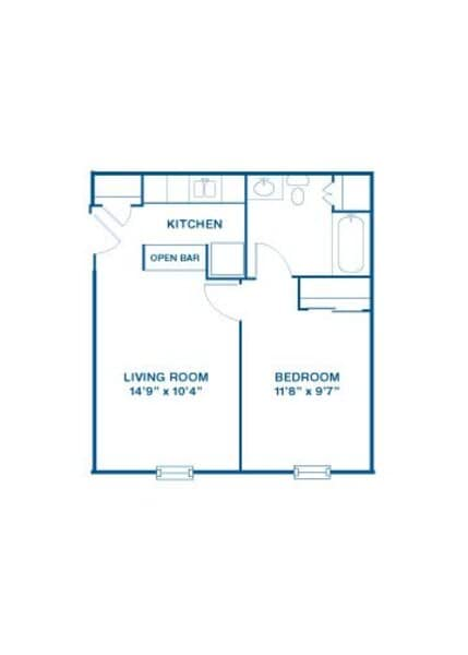 Aspen - One Bedroom