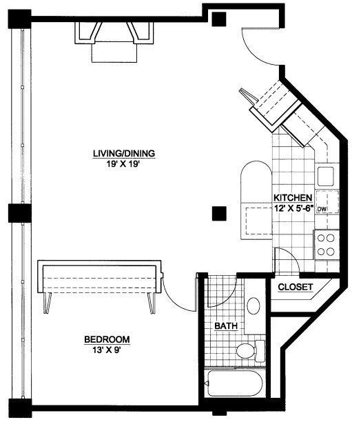 River West Lofts-925 W Huron St, Unit 102