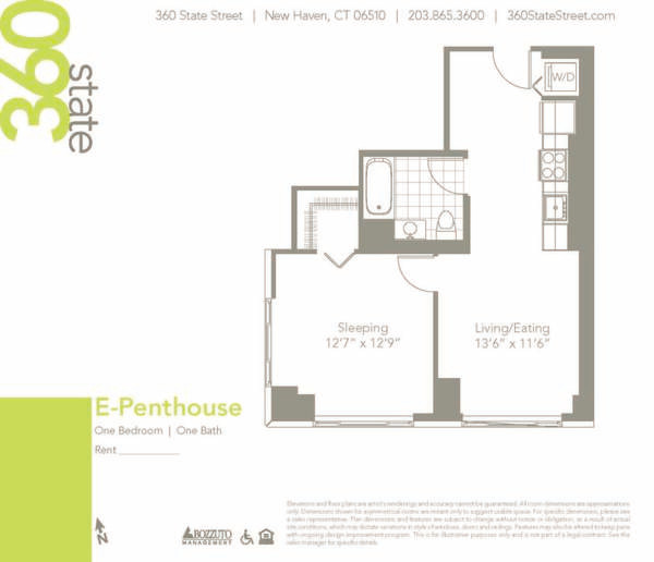 One Bedroom E Penthouse