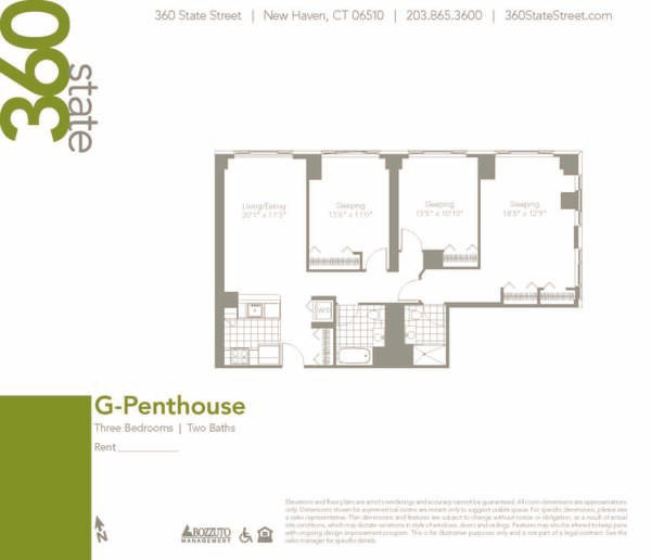 Three Bedroom G Penthouse