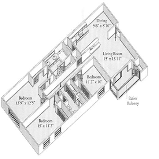 Paddock Apartments: The Paddock Club Montgomery