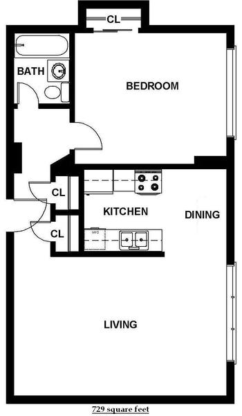 One Bedroom (B4)