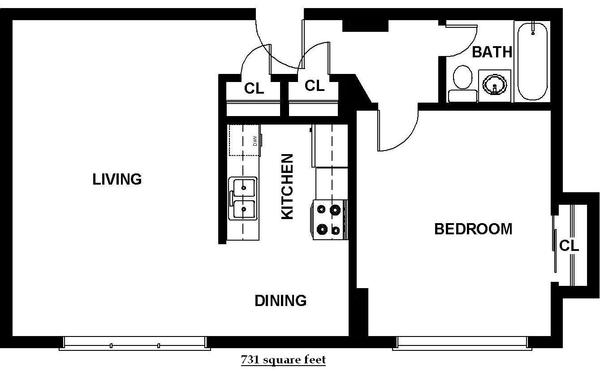 One Bedroom (B5)