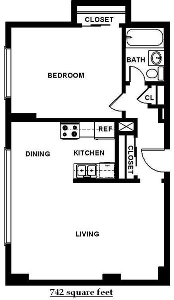 One Bedroom (B6)