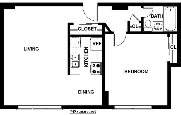 One Bedroom (B7)