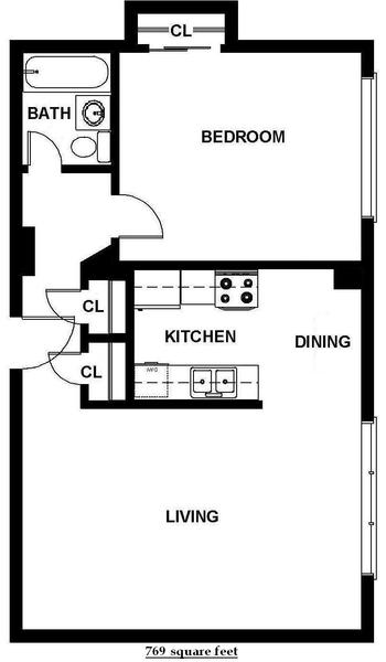 One Bedroom (B11)