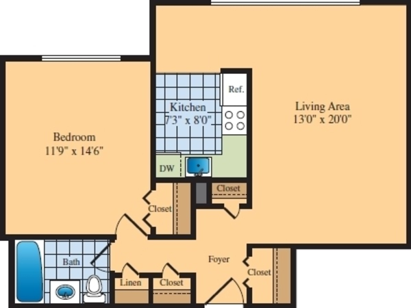 One Bedroom (B12)