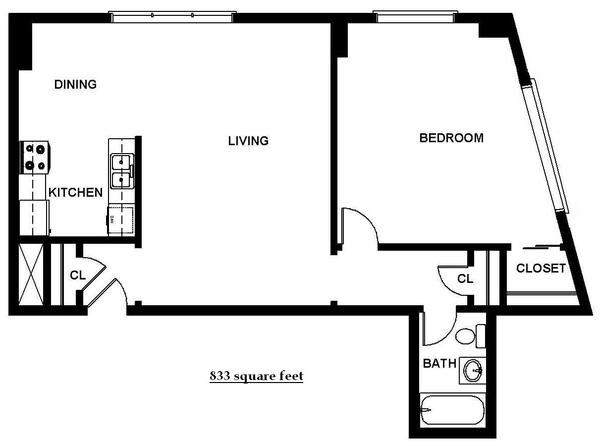 One Bedroom (B13)